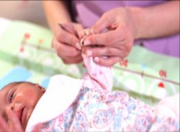 How to trim baby's nails